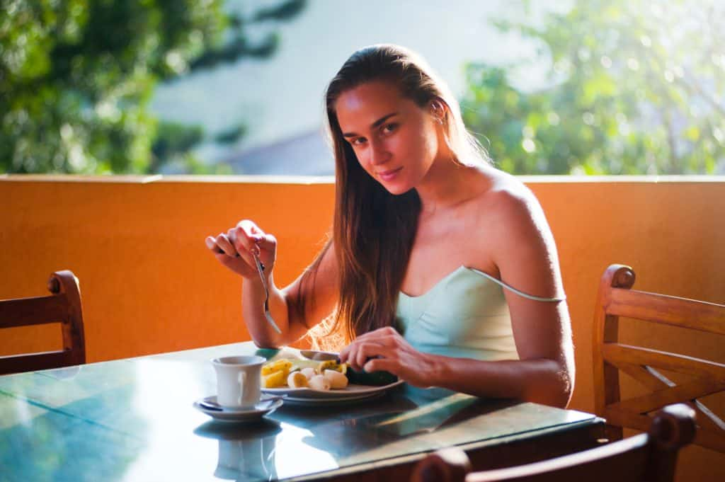 Healthy breakfast leads to good mood